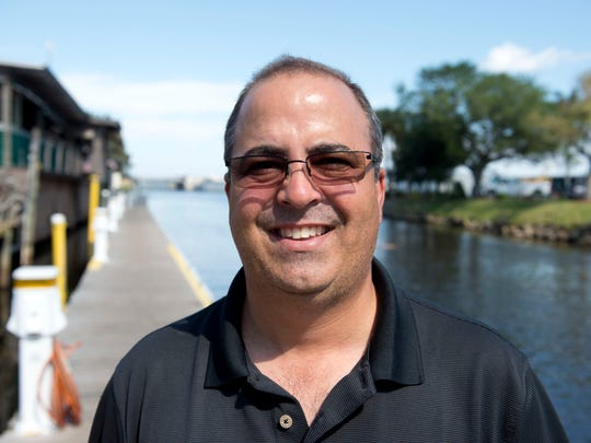 Ramon Iglesias, general manager of the Roland and Mary Ann Martin's Marina & Resort in Clewiston, would like to see more invasive plants removed from Lake Okeechobee with machinery rather than herbicides.