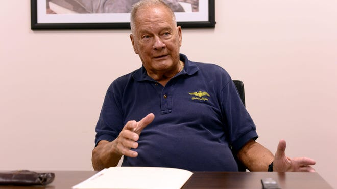 """Gen. Charles """"Chuck"""" Pitman, US Marine Coprs retired, talks about the 1979 mission to rescue hostages in Iran."""