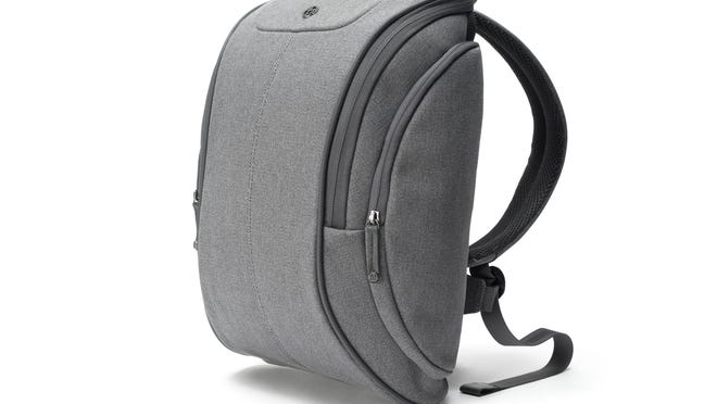 The Cobra squeeze from booq looks like a slimmed-down backpack but nonetheless has 13 compartments, including an exterior pocket for your phone and a padded interior slot for a laptop.
