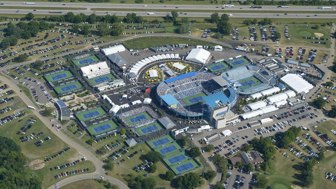 The Lindner Family Tennis Center in Mason, home of the Western & Southern Open