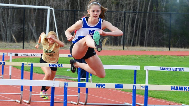 Brianna Ricardo is the girls middle school champion in Ocean County for the 100-meter race, in just her first year competing in the event.