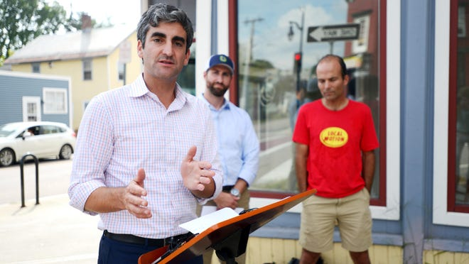 Mayor Miro Weinberger announces the second annual Open Streets BTV on 2015.