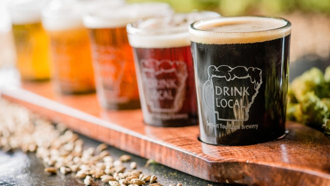 Pride in local food and drink is helping fuel Arkansas's rapidly expanding craft beer market, say brewery owners.