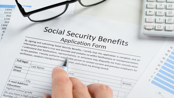 Social Security calculates your payment on the 35 years you earned the most money. While you can take your social security benefit as early as age 62, your benefit grows the longer you work and wait to take the benefit.