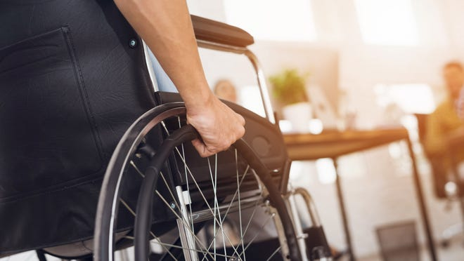 A reader asks if wheelchairs are allowed in bike lanes. The answer gets a bit complicated, but motorized wheelchairs are allowed.