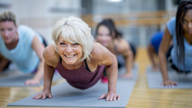 The decline in muscle with increasing age can be related to reduced physical activity, decreased ability of the body to use protein to make muscle tissue, changes in diet/nutritional status, hormonal changes, increased oxidative stress/inflammation, and other factors.