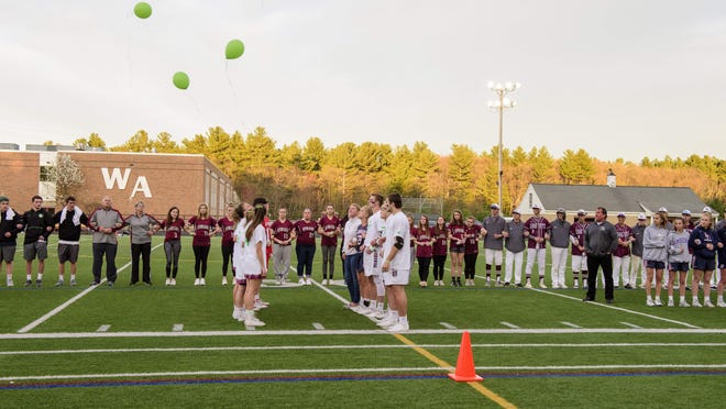 Selectmen have approved Westford Academy's Trustees Field, shown here in a photo from an activity last year, as the site for spring Town Meeting, set for June 20. A rain date is set for June 22. The board changed the date several times due to the coronavirus crisis.