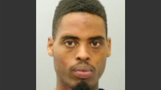 This photo provided by the St. Louis County Police Department on Sunday, March 15, 2015 shows Jeffrey Williams. Williams, 20, is charged with two counts of first-degree assault, one count of firing a weapon from a vehicle and three counts of armed criminal action in connection with the shooting of two police officers who were keeping watch over a demonstration outside the Ferguson Police Department on March 12. (AP Photo/St. Louis County Police Department)