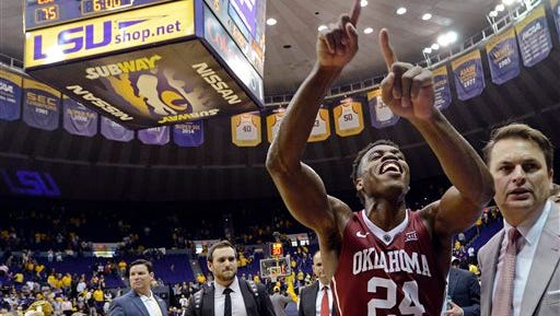 Buddy Hield knows where Oklahoma's going to be ranked.