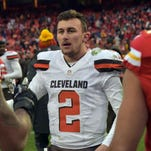 Johnny Manziel reported hit-and-run crash