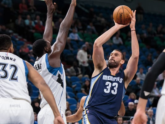 NBA: Preseason-Memphis Grizzlies at Minnesota Timberwolves