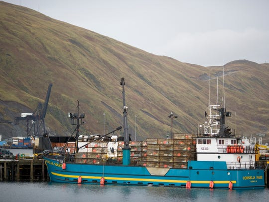 The ship Lara captained on 'Deadliest Catch.'