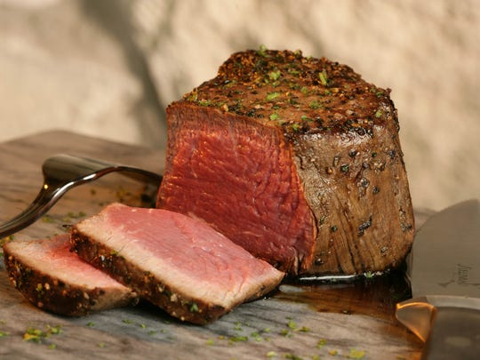 The 12-oz. filet mignon will be on the Father's Day menu at Sullivan's Steakhouse.