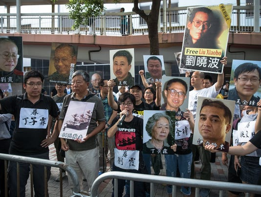 EPA CHINA HONG KONG PRO DEMOCRACY PROTEST POL CITIZENS INITIATIVE & RECALL CHN