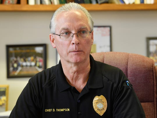 Springfield Police Chief David Thompson isn't sure