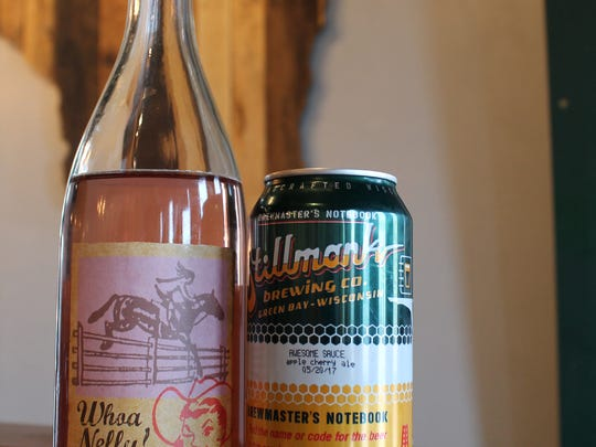 If you're looking for a kick of tartness, seek out a rosé or a sour beer.