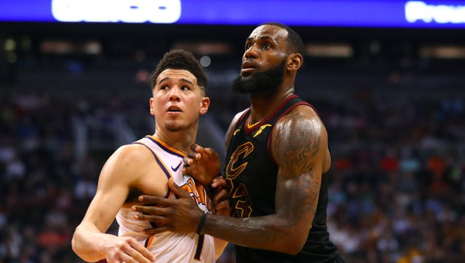 Could LeBron James join forces with Devin Booker on the Phoenix Suns? Don't count on it.