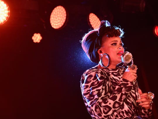Andra Day takes to the Gillioz stage with Corinne Bailey