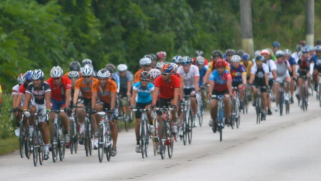 In this 2012 file photo, cyclists compete in the 2012 Tour of Guam.