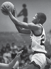 Stephen Jackson played at USI from 1983-87 and remains the program's all-time leading scorer.