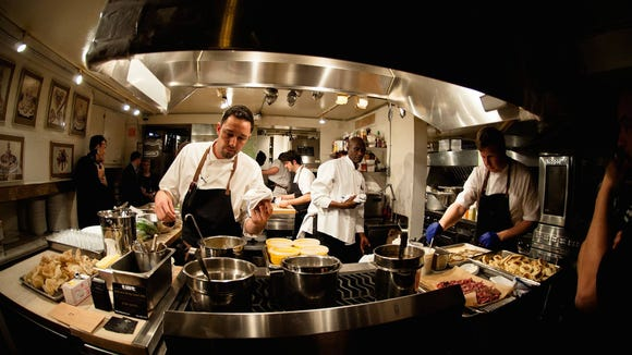 Adam Cooke, executive chef at Restaurant 17, was invited to cook at the prestigious James Beard House in New York.