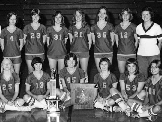 1977 Mountain Home Lady Bombers