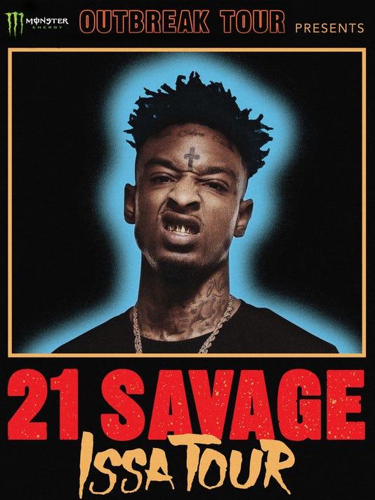 21 Savage tour
