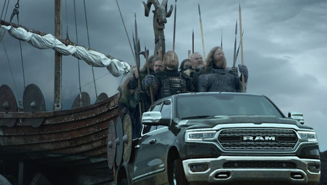 Vikings head to Minneapolis in a Super Bowl commercial for the Ram 1500.