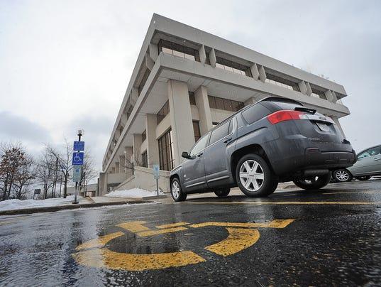 Fond du Lac County Courthouse handicap accessible