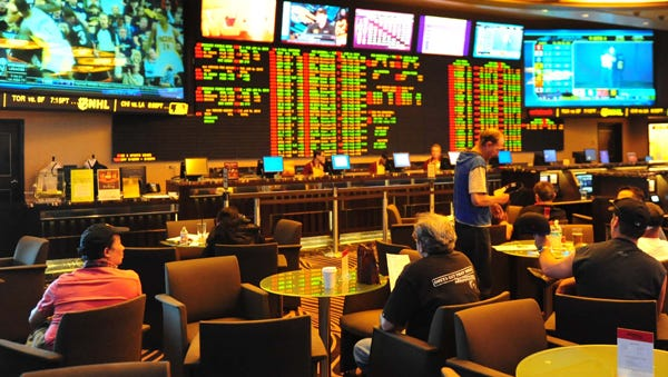Thesports book at the Atlantis Casino Resort Spa