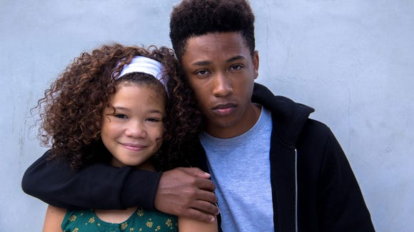 Storm Reid and Jacob Latimore are siblings in 'Sleight.'