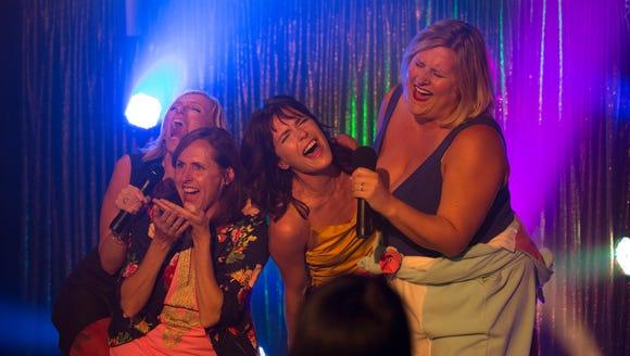 The women of 'Fun Mom Dinner' —Toni Collette (far