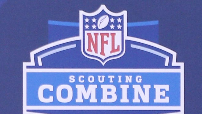 The NFL scouting combine will be held Feb. 23-29 in Indianapolis.