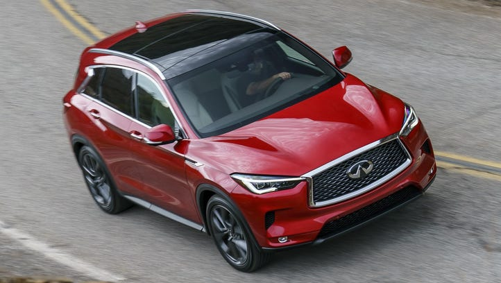 Infiniti's new QX50 joins premium-crossover fray