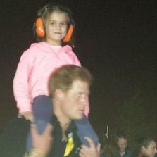 Prince Harry and Isabelle Nixon