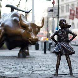 'Fearless Girl' statue will keep staring down Wall Street's bull