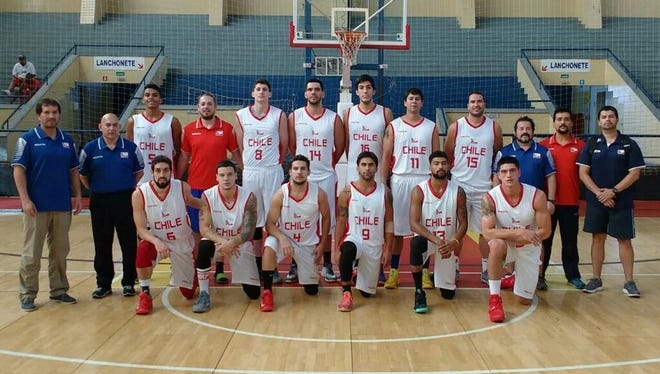 CSU redshirt freshman Nico Carvacho (8) is playing for Chile in the FIBA South America championships.