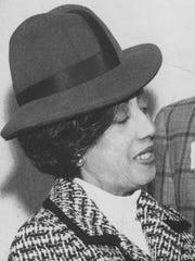 Mattie Coney of Citizens Forum Inc. in 1975