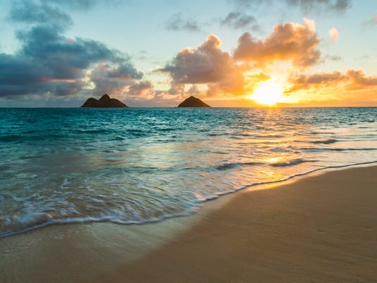 Lanikai Beach Sunrise