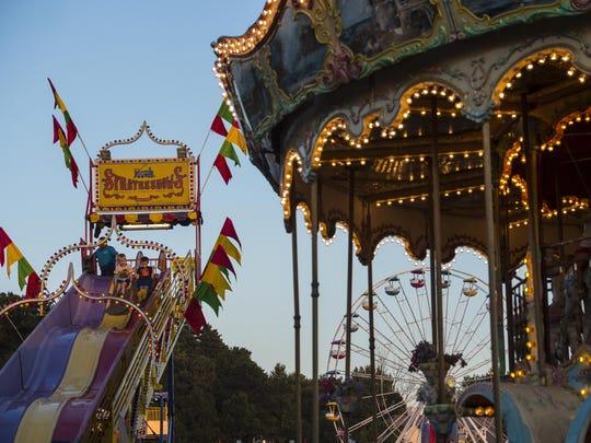 The Champlain Valley Fair opens Friday and runs through Sept. 3.