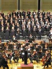 James Conlon conducting the Cincinnati Symphony Orchestra