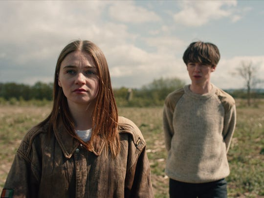 Jessica Barden and Alex Lawther take a road trip together