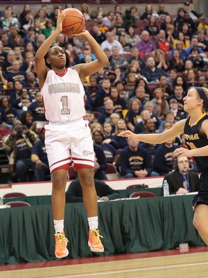 Princeton senior guard Kelsey Mitchell had 23 points, four rebounds and six assists Friday night.