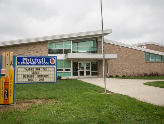 Mitchell Elementary School was closed along with two