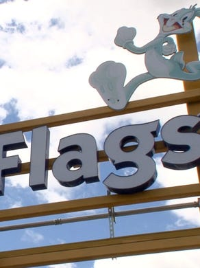 2015: The entrance to the Six Flags Great Adventure parking lot in Jackson Township, NJ, is shown Tuesday, April 28, 2015.