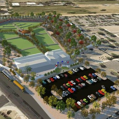 Rendering of the Gilbert veterans project