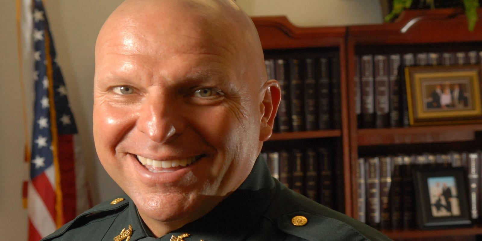 Sheriff Mike Scott announces retirement effective Sept  24