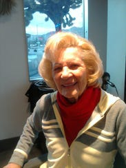Maxine Douglas on Dec 29, 2010, after she was back