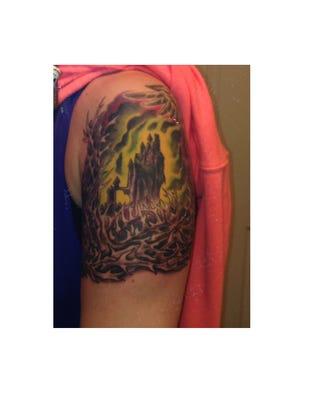 Katee Robert's tattoo. (Photo: Katee Robert)