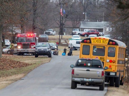 Emergency crews respond to Marshall County High School